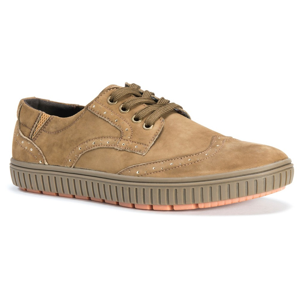 Men's Muk Luks Parker Sneakers - Khaki 12, Beige