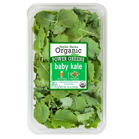Taylor Farms Organic Baby Kale - 16oz - image 1 of 1