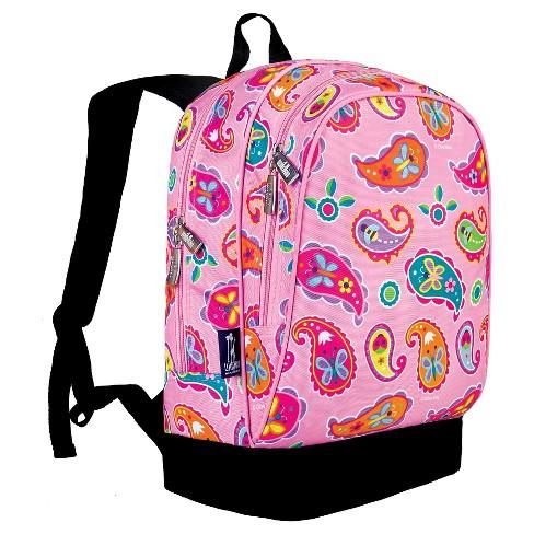6c0664c08618 Wildkin Olive Paisley Sidekick Kids  Backpack - Pink Paisley   Target