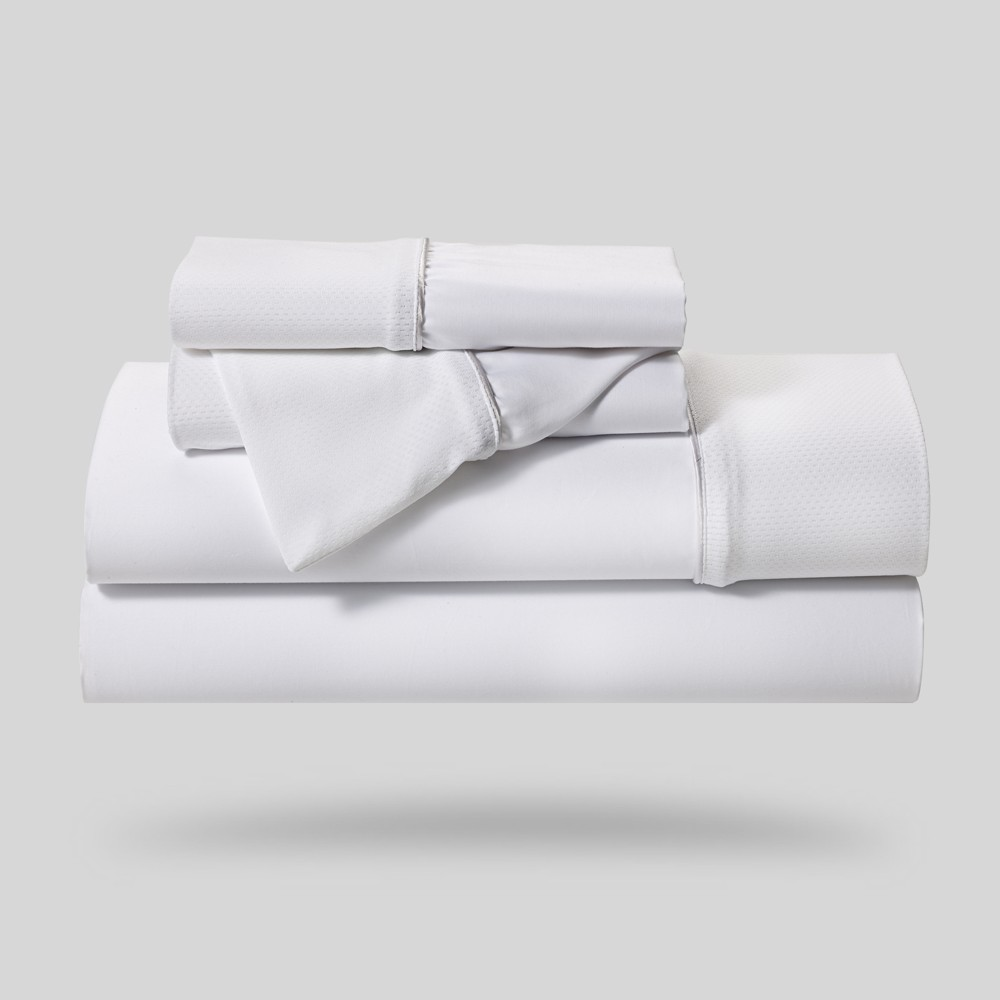 Image of Hyper-Cotton Performance Sheet Set (Queen) White - Bedgear