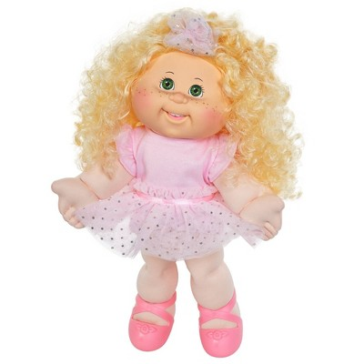 "Cabbage Patch Kids 14"" Blonde Hair Green Eyes Dancer Doll"