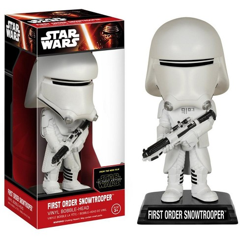 Funko Star Wars The Force Awakens Bobble Head First Order Snowtrooper - image 1 of 3