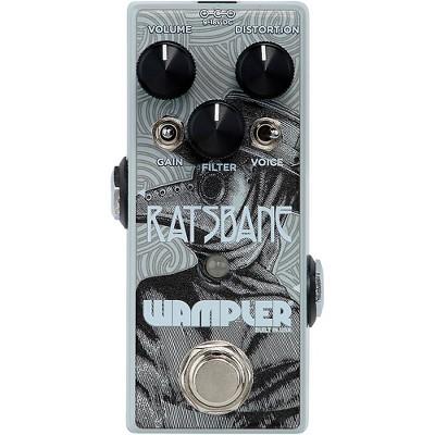 Wampler Ratsbane Distortion Effects Pedal Gray