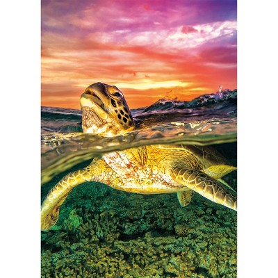 Buffalo Games Earth Pix 500pc Puzzle - Sea Turtle