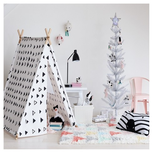 A Frame Tent - White and Black - Pillowfort™ : Target