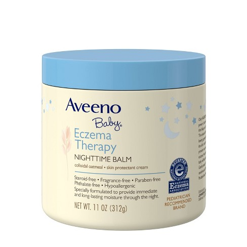 Aveeno Baby Eczema Therapy Nighttime Balm with Natural Oatmeal -11oz - image 1 of 4
