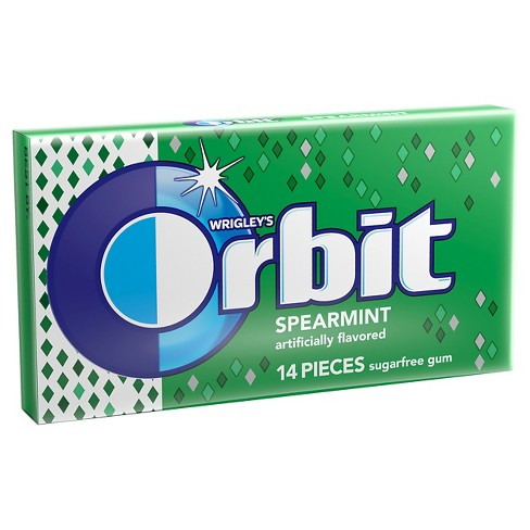 Orbit Spearmint Sugarfree Gum - 14ct - image 1 of 2