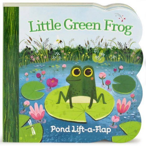LITTLE GREEN FROG (lift-a-Flap) (Board) (Ginger Swift) - image 1 of 1
