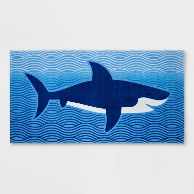 Big Shark Prints Blue - Sun Squad™