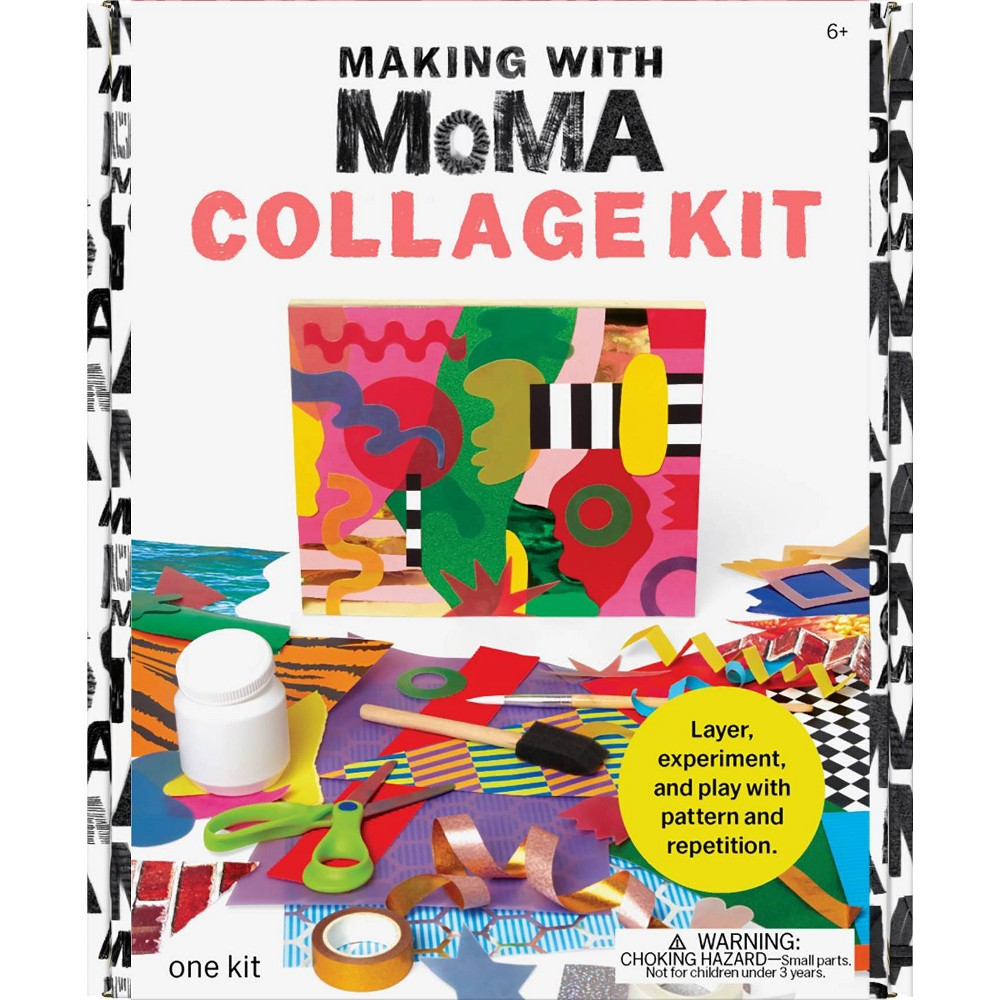 Image of Art Making with MoMA Collage Kit