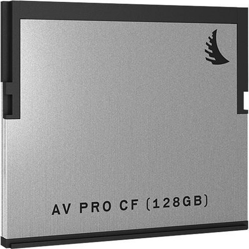 Angelbird AV PRO CF 128GB Memory Card, 550MB/s Read and 340MB/s Write Speed - image 1 of 3