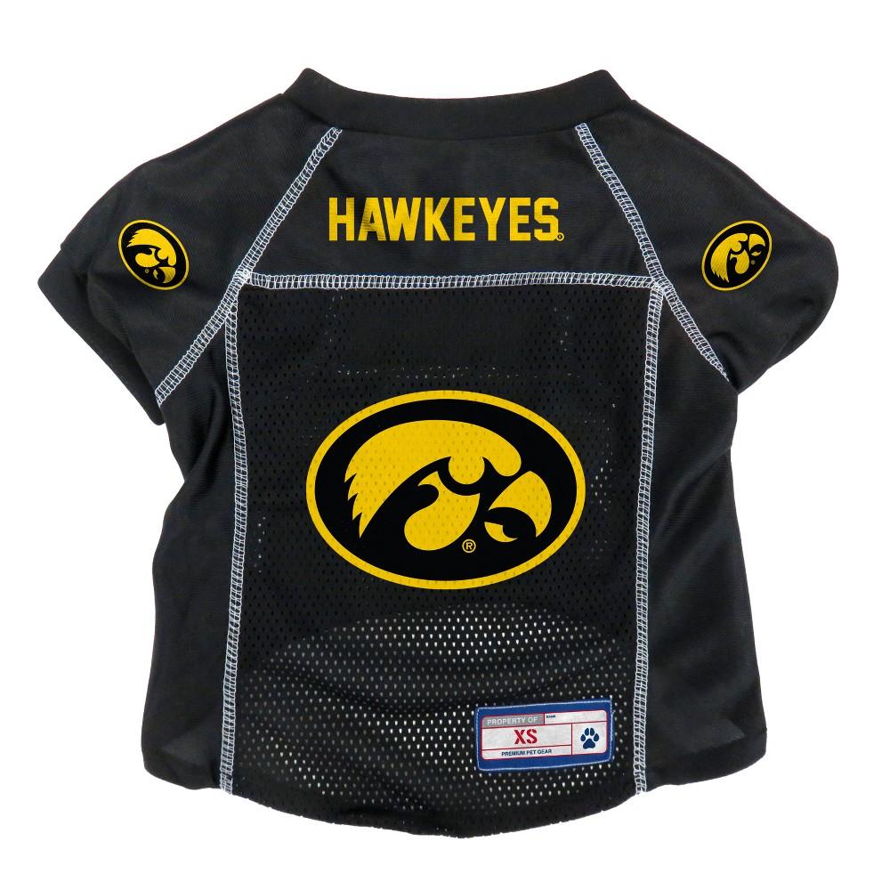 Iowa Hawkeyes Little Earth Pet Football Jersey - XS, Multicolored