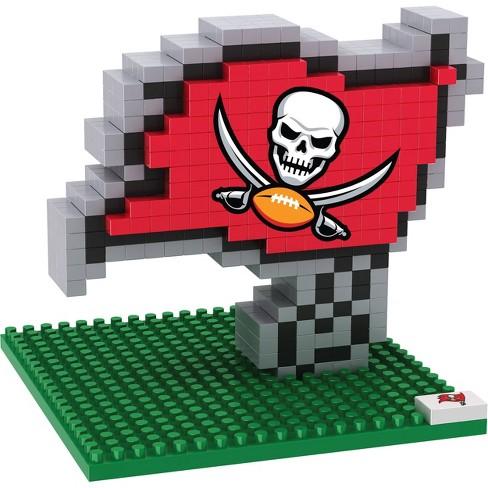 NFL Tampa Bay Buccaneers BRXLZ Mascot Figure 1000pc - image 1 of 1