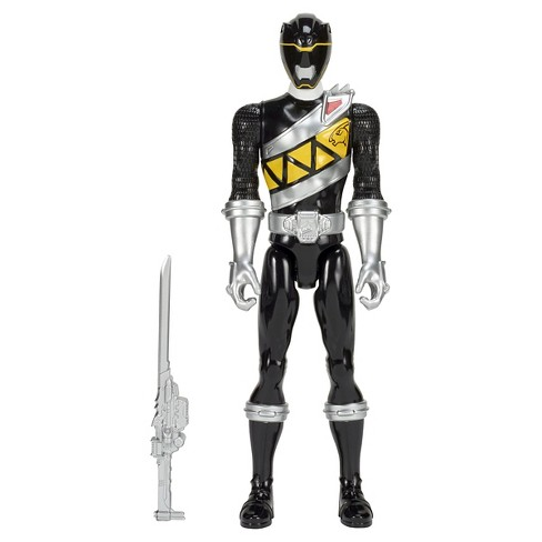 Power Rangers Dino Charge 12 Inch Figures Black Ranger - image 1 of 2