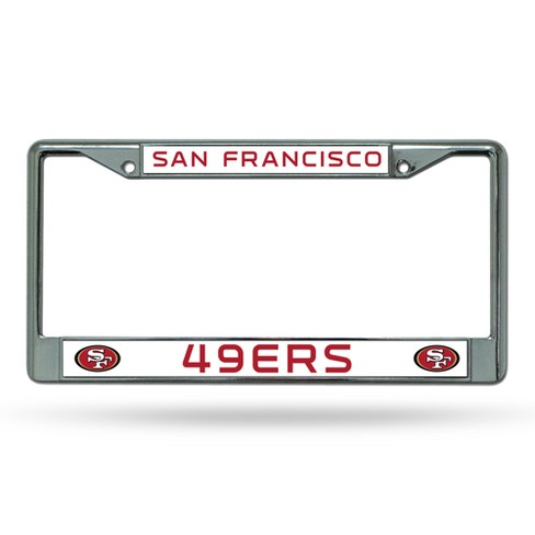 NFL Rico Industries Chrome License Plate Frame - image 1 of 1