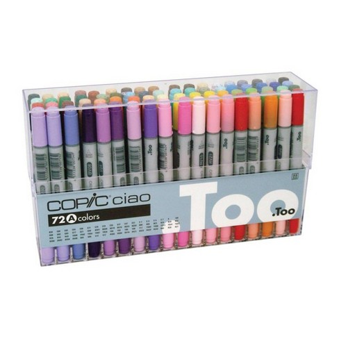 Copic Ciao 72pk Markers Set - Set A - image 1 of 1