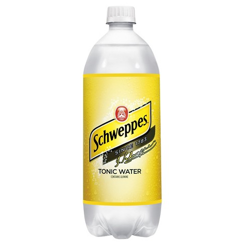 Schweppes Tonic Water - 1 L Bottle - image 1 of 1
