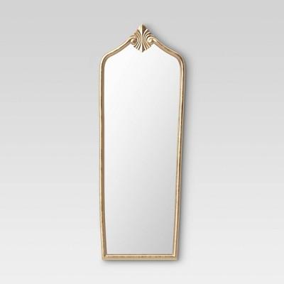 Floor Gilded Decorative Wall Mirror Gold - Opalhouse™
