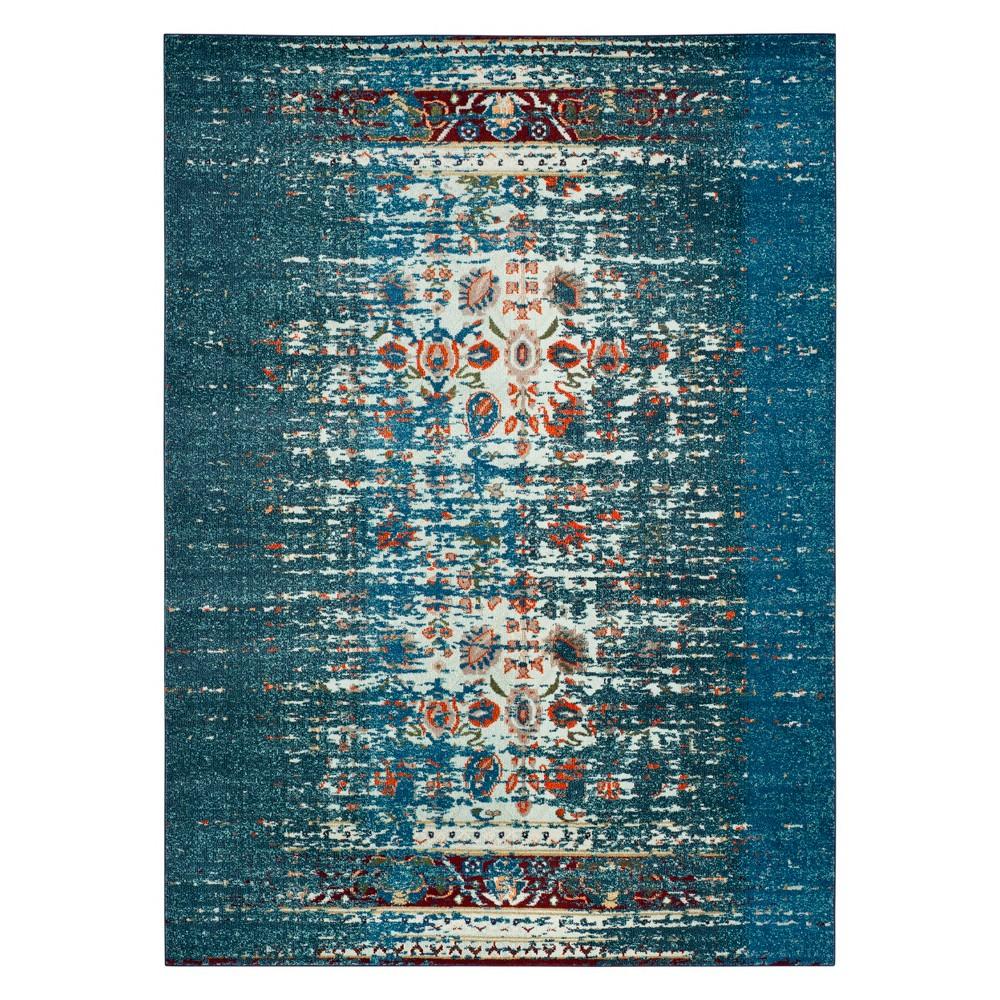 8'X11' Shapes Area Rug Blue/Ivory - Safavieh