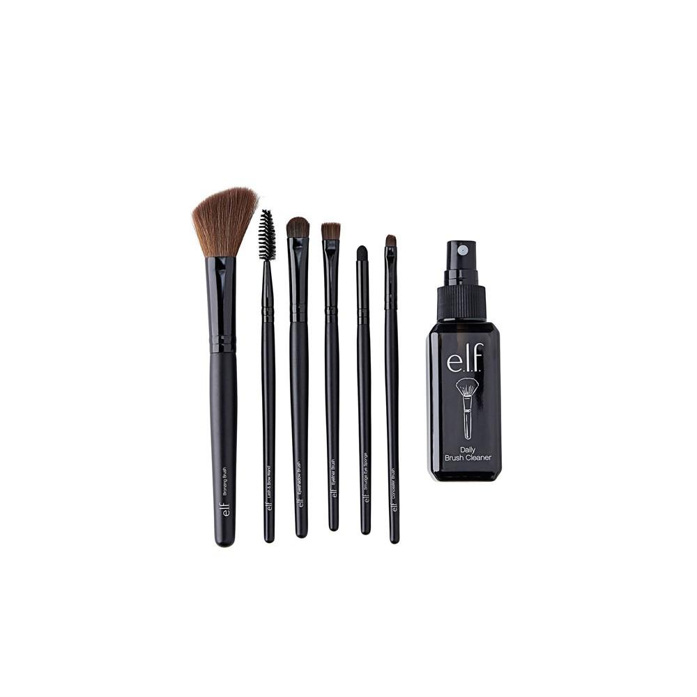 Image of e.l.f. Brush & Brush Cleaner Set - 7pc