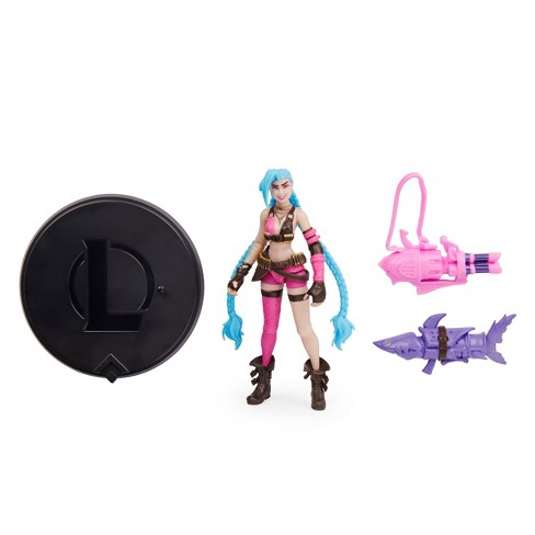 League of Legends 4in Jinx Collectible Figure - image 1 of 4