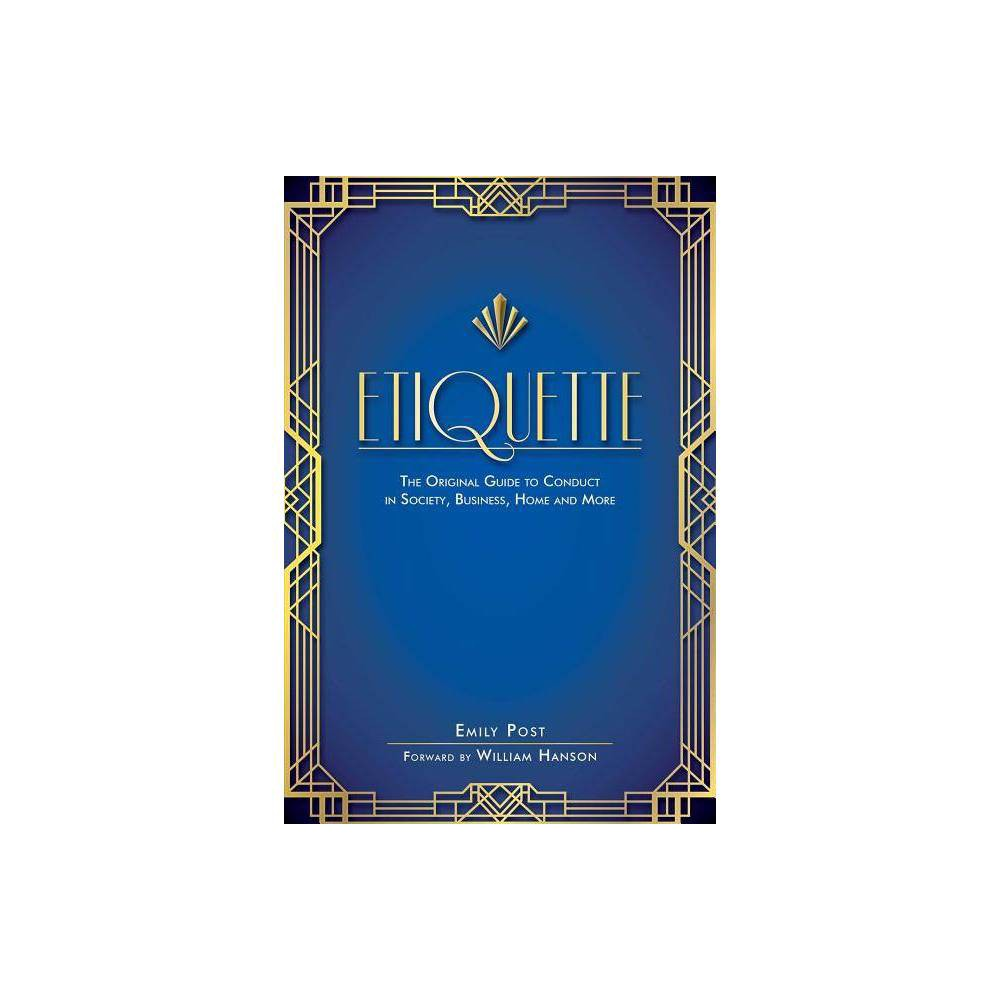 Etiquette By Emily Post Paperback