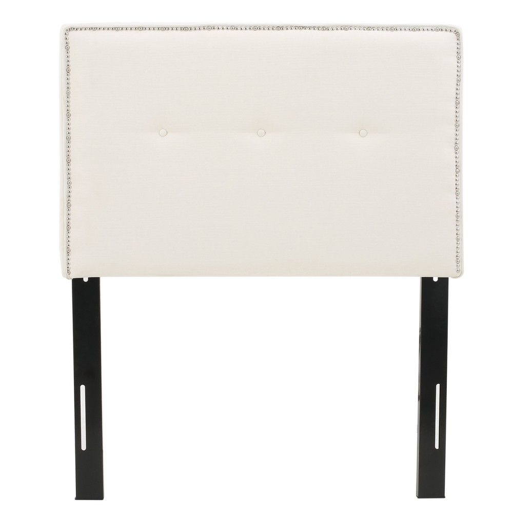 Luciana Kid's Headboard - Twin - Ivory - Christopher Knight Home