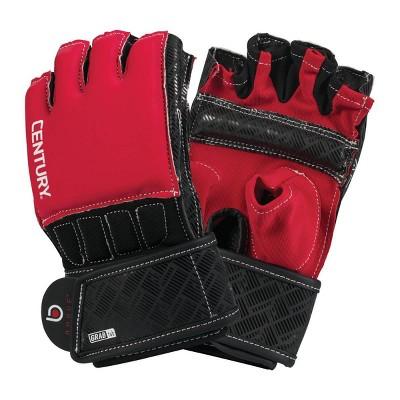 Century Martial Arts Men's Brave Grip Bar Bag Gloves M/L - Red/Black