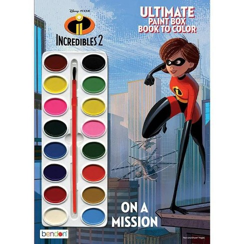Incredibles 2  Paintbox Book - image 1 of 2