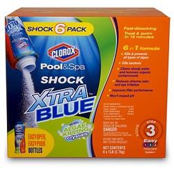 Pool Chemical Clorox Blue