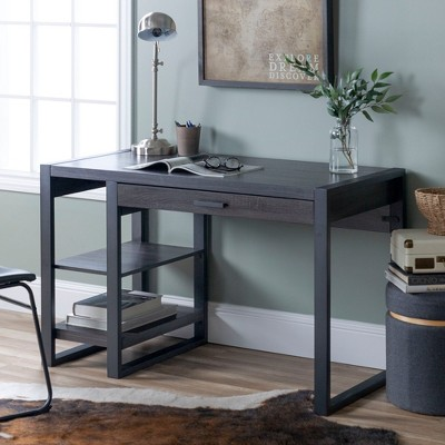 "48"" Carlisle Innovative Industrial Tech Desk With USB - Saracina Home : Target"