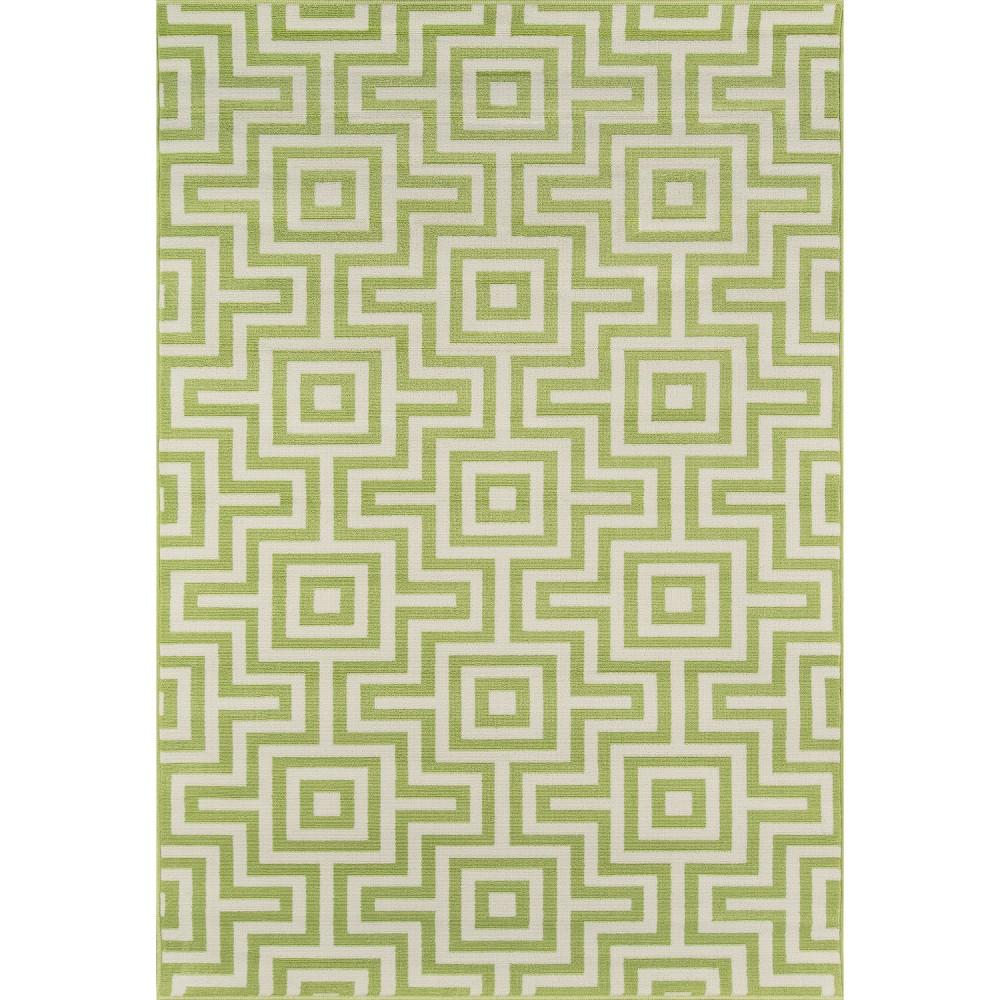 Top 5X8 Solid Area Rug Green - Momeni