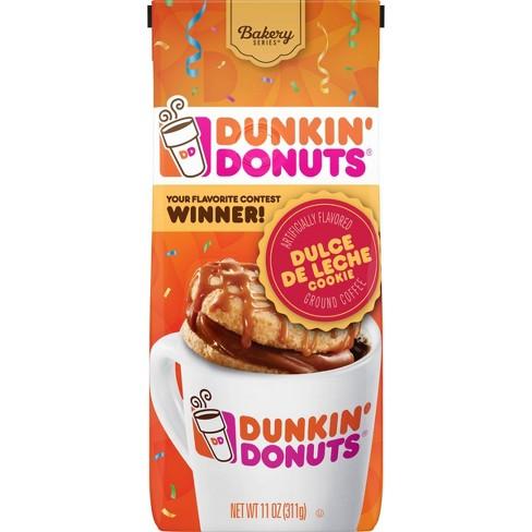 Dunkin' Donuts Dulce De Leche Cookie Medium Roast Ground Coffee - 11oz - image 1 of 4