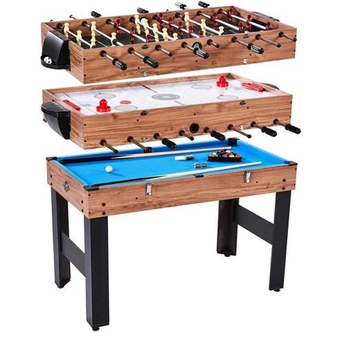 Lancaster 3 in 1 Pool Billiard, Slide Hockey, Foosball Combo Arcade Game Table - image 1 of 4