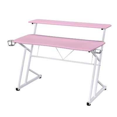 Computer Gaming Desk with Shelves - Techni Sport