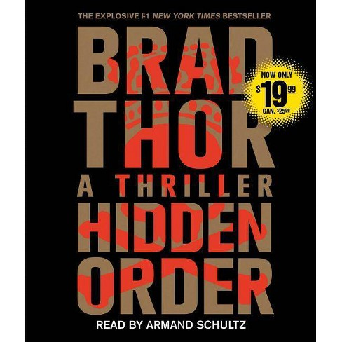 Hidden Order - (Scot Harvath) by  Brad Thor (AudioCD) - image 1 of 1