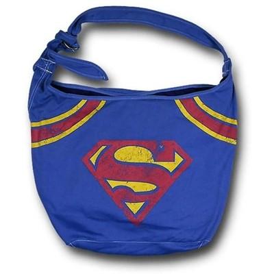 Bioworld DC Comics Superman Logo Hobo Bag