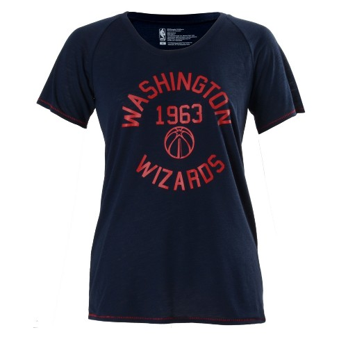 NBA Washington Wizards Women's Phys Ed Scoop Neck Slub T-Shirt L - image 1 of 2