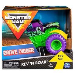Monster Jam 1:43 Rev & Rumble Trucks Assortment - Graver Digger 2