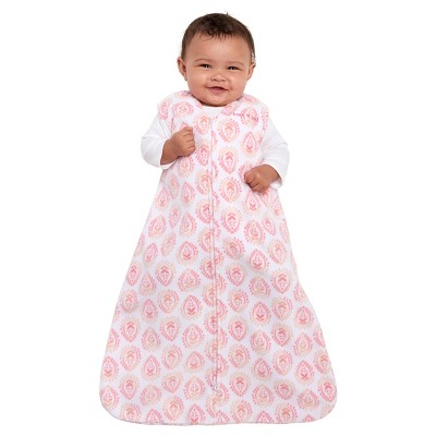 HALO® SleepSack® Micro-Fleece Wearable Blanket - Pink Medallion - S