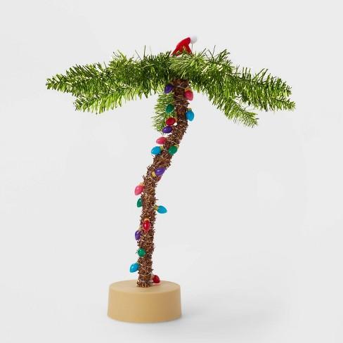 Tinsel Palm LED Artificial Christmas Tree - Wondershop™ - image 1 of 2