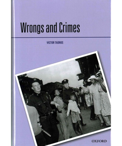 Wrongs and Crimes (Hardcover) (Victor Tadros) - image 1 of 1