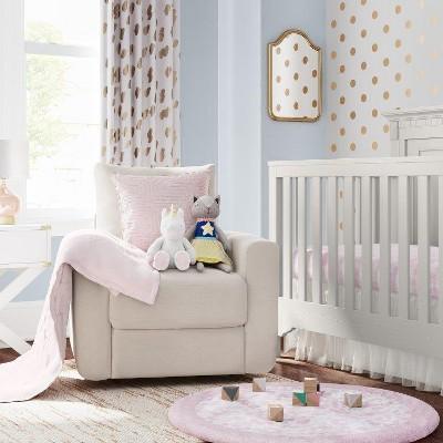 Blushing Pink Nursery Room Cloud Island