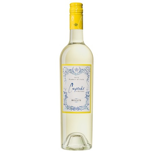 Cupcake Vineyards Moscato White Wine - 750ml Bottle - image 1 of 1
