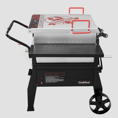 Creole Feast Single Sack Crawfish Boiler and Outdoor Stove Propane Gas Cooker CFB1001A Black