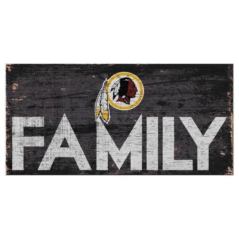 Nice NFL Washington Redskins Fan Creations Family Sign : Target  hot sale