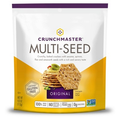 Crackers: Crunchmaster Multi-Seed Crackers