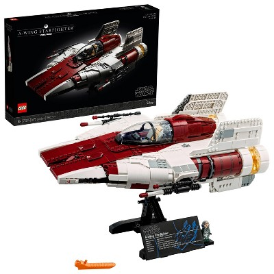 LEGO Star Wars A-wing Starfighter Building Kit; Cool Gift Idea for Creative Adults 75275