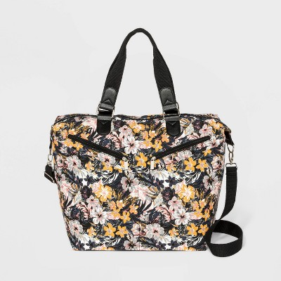 Floral Print Canvas Weekender Bag - Wild Fable™