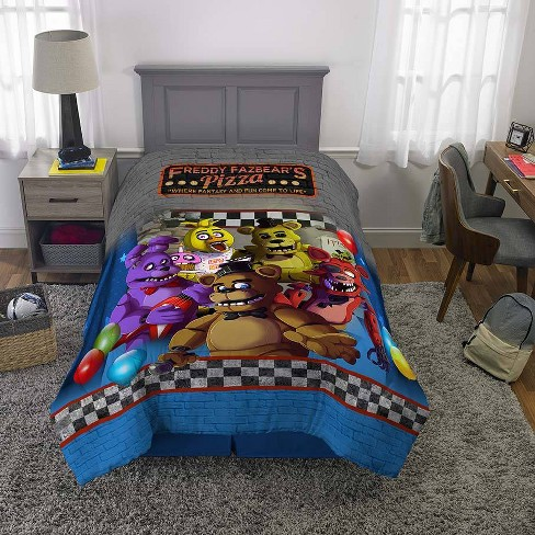 Twin Five Nights At Freddy's Bedding Bundle : Target